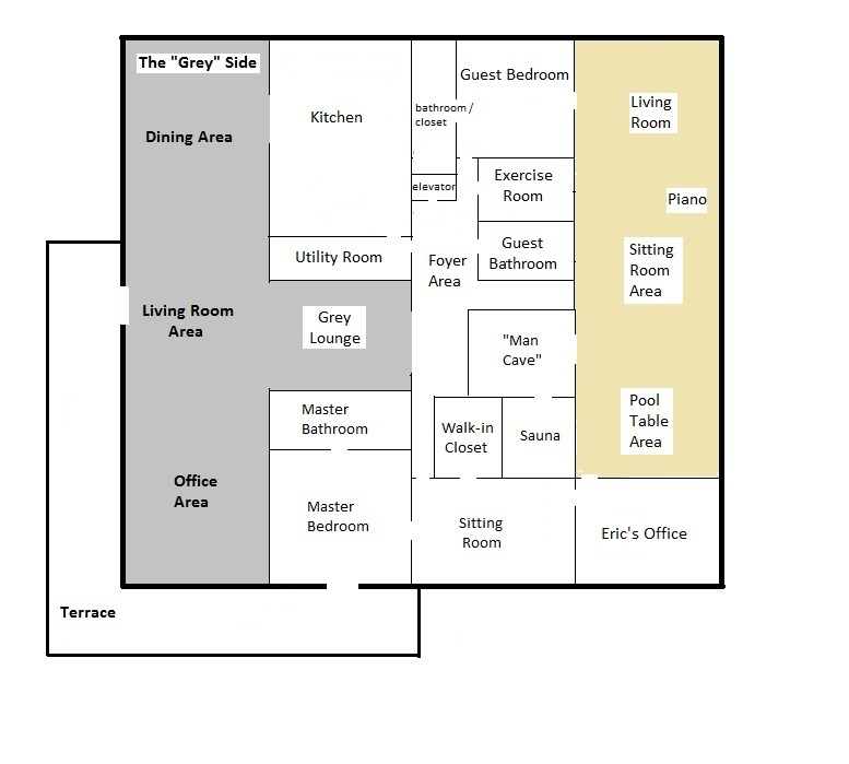 Eric's house floorplan