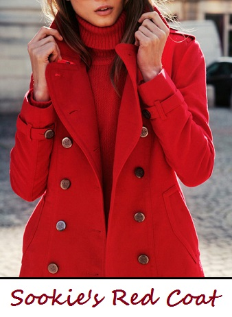 Sookie's red coat