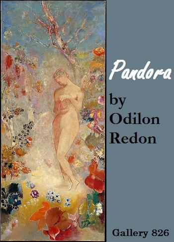 Odilon Redon Pandora